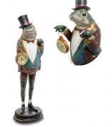 Статуэтка лягушки с часами «Сэр Себастьян»