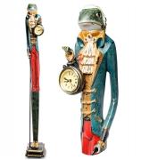 Статуэтка лягушки с часами «Жан-Жаб»
