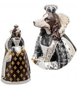 Статуэтка собаки «Анетта в горностаях»