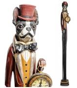 Статуэтка с часами «Собака во фраке»