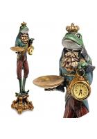 Статуэтка с часами «Лягушка Церемониймейстер»