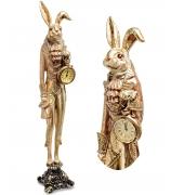 Статуэтка с часами «Золотой Кролик»