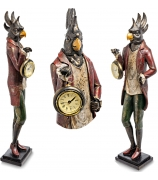 Статуэтка с часами «Попугай Претапорт»