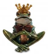 Статуэтка-подсвечник лягушка «Принц»