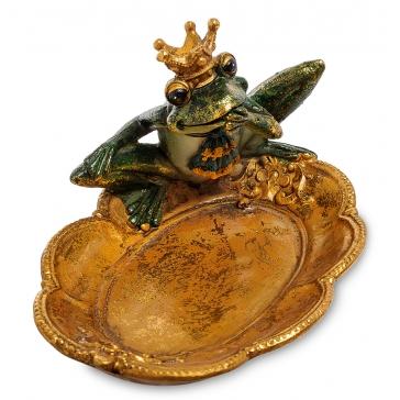 Блюдо с фигуркой «Царевна Лягушка»