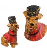 Статуэтка собаки «Гвардеец Букингем»