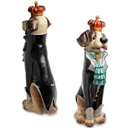Напольная статуэтка «Пес Бурбон»