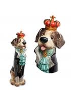 Статуэтка «Пес Бурбон»
