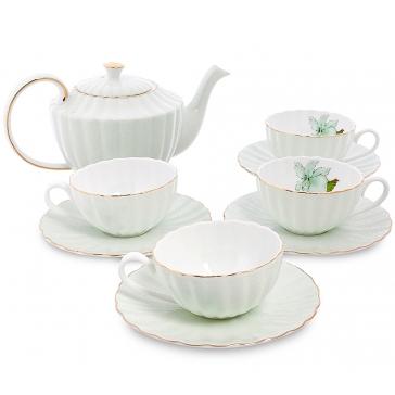 Чайный сервиз на 4 персоны «Согно Верде»