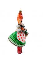 Елочная игрушка «Лисичка сестричка»