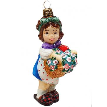 Елочная игрушка польского производства «Хайди»