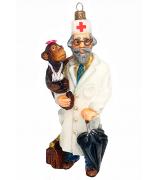 Елочная игрушка «Добрый доктор Айболит»