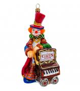 Елочная игрушка «Шарманщик»