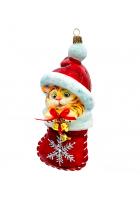 Елочная игрушка «Новогодний Тигрёнок»