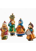 Набор елочных игрушек «Святки»