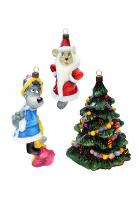 Набор елочных игрушек «Расскажи, Снегурочка»