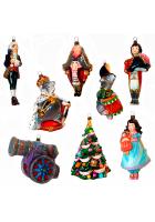 Набор елочных игрушек «Волшебная сказка»
