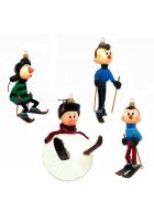 Набор елочных игрушек «Снежные дорожки»