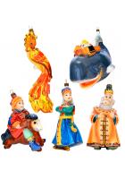 Набор елочных игрушек «Конек Горбунок»