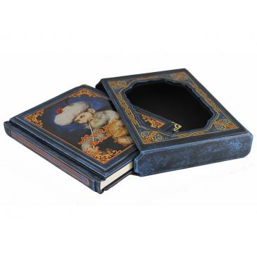 Подарочная книга в кожаном футляре «Мудрость Востока»