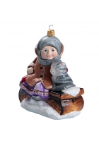 Елочная игрушка «Варенька на заваленке»