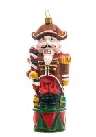 Елочная игрушка «Щелкунчик с карамелькой»