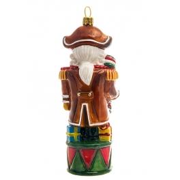 Елочная игрушка польского производства «Щелкунчик с карамелькой», коллекция Bombki