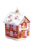 Елочная игрушка «Пряничный домик»