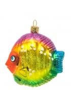 Елочная игрушка «Радужная рыбка»