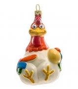 Елочная игрушка «Курица или яйцо?»