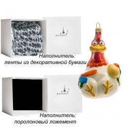 Елочная игрушка ручной работы «Курица или яйцо?», производство Польша