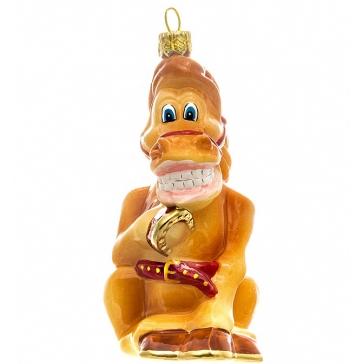 Елочная игрушка ручной работы «Богатырский конь Юлий», производство Польша