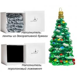 Елочная игрушка ручной работы «Ёлочка», производство Польша
