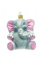 Елочная игрушка «Слон Дамбо»
