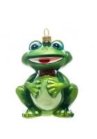 Елочная игрушка «Лягушонок»