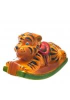 Елочная игрушка «Качалка Тигр»