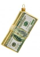 Елочная игрушка «Деньги»