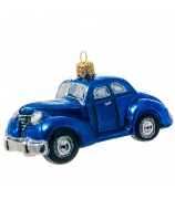 Елочная игрушка «Синее авто»
