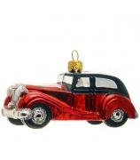 Елочная игрушка «Красное авто»