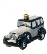 Елочная игрушка «Белое авто»