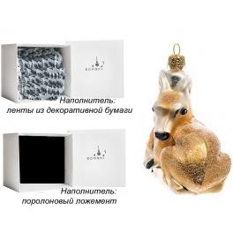 Елочная игрушка ручной работы «Оленёнок», производство Польша
