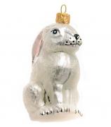 Елочная игрушка «Зайчишка»