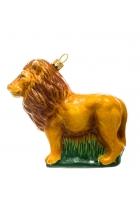 Елочная игрушка «Лев»