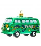Елочная игрушка «Весёлый автобус»