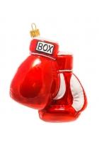 Елочная игрушка «Боксёрские перчатки»
