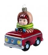 Елочная игрушка «Берегись автомобиля»
