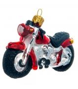 Елочная игрушка «Мотоцикл»