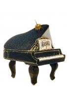 Елочная игрушка «Черный рояль»