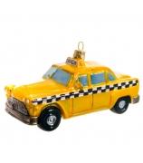 Елочная игрушка «Авто такси»