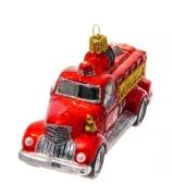 Елочная игрушка «Пожарная машина»